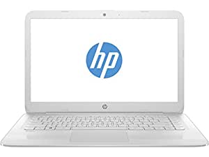 "HP Stream 14-ax003ns - Ordenador portátil de 14"" HD (Intel Celeron N3060, 4 GB RAM, 32 GB eMMC, Intel HD Graphics 400, Windows 10 + Microsoft Office 365) blanco nieve - Teclado QWERTY Español"