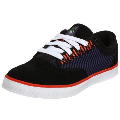 Osiris Men's Corpse Sneaker,Black/Orange,5.5 M ()