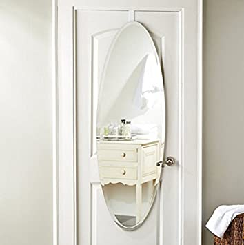 Oval Over The Door Mirror 205 Inch X 585