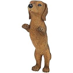 Trenton Gifts Dog Statue, Dachshund Statue