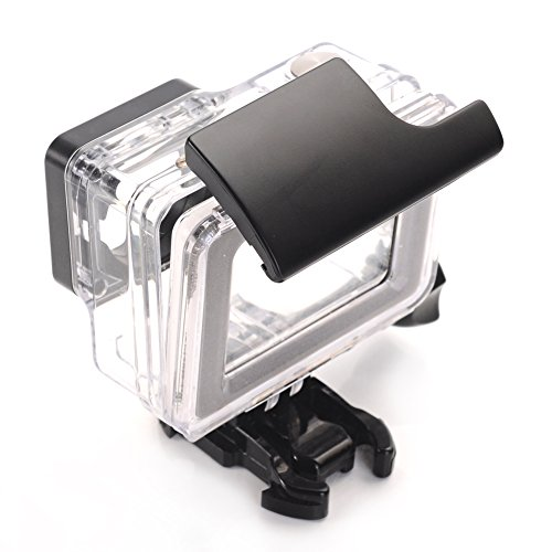 how to open close underwater gopro case
