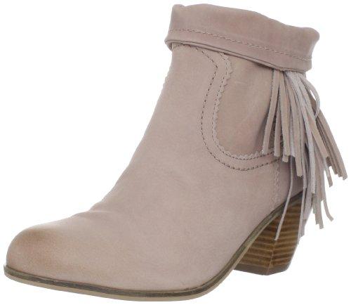 Sam Edelman Women's Louie Fringe-Trimmed Ankle Boot