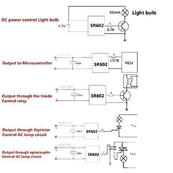 ZREAL Interruptor sensorial infrarrojo piroeléctrico del ...