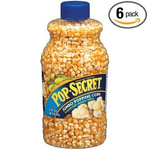 Pop-secret Jumbo Popping Corn Jars 30OZ (Pack of 12) by Pop Secret