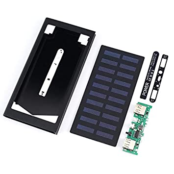 ZengBuks Cargador de batería Solar portátil Banco de energía ...