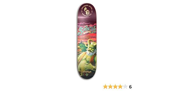 ztuntz skateboards FireWheel Brewing Logo Park Skateboard Deck