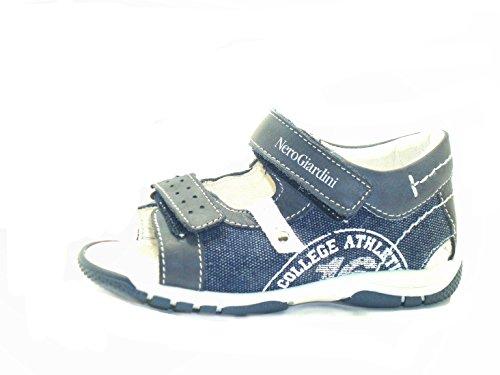 Nero Giardini Junior , Jungen Sandalen blu jeans bianco