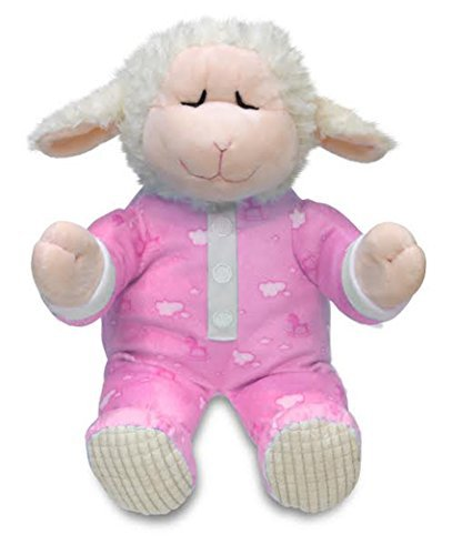 Cuddle Barn Animated Plush Little Lamb Pray with Me Pals Collection - Nora The Lamb - Barn Sheep