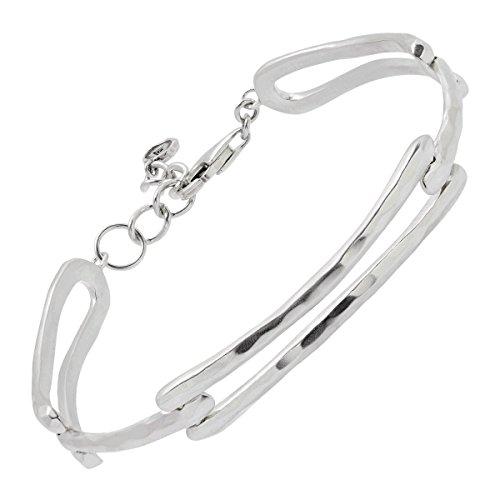 Silpada 'Triple Link' Sterling Silver Bracelet, 7