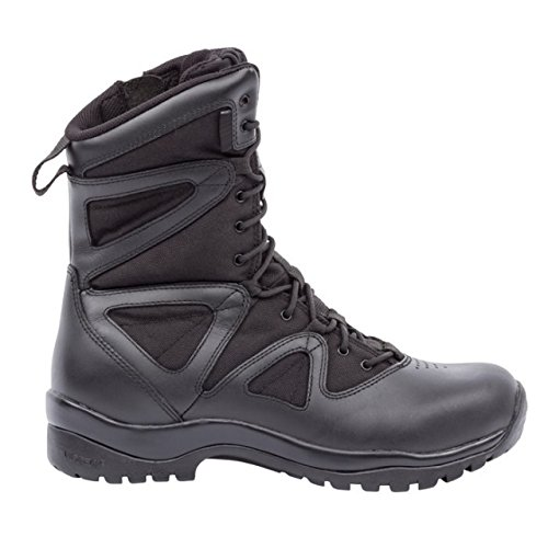 Blackhawk  Mens Ultralight Side Zip Boot  Black  8 Medium