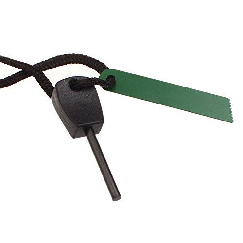 Rawdah Steinfeuer Starter Feuerzeug Feuerzeug Outdoor Survival Magnesium Feuersteine Schaber