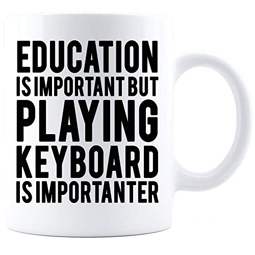 Keyboard Mug Keyboard Gift Keyboard Coffee Mug Keyboard Gift Idea Keyboard Gift for men and ()