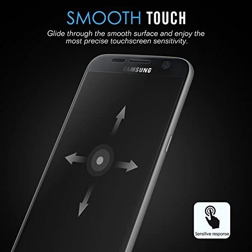 Easy Removal 3-PACK Galaxy S7 Edge Screen Protector High Resolution Ixir Screen Protector {Full HD} for Samsung Galaxy S7 Edge Precision Fit FULL COVERAGE Super Touch Sensitivity