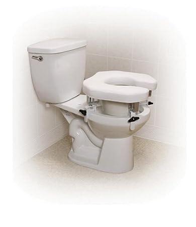 Remarkable Amazon Com Drive Medical A Raised Toilet Seat W 4 Machost Co Dining Chair Design Ideas Machostcouk