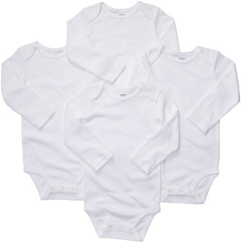 Carters Unisex Baby 4 Pack Sleeve Bodysuits product image