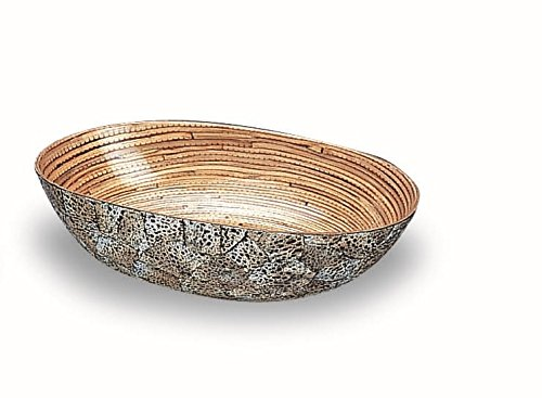 Medium Oval Bowl - ORGBH Egg Shell and Bamboo Oval Bowl, Medium
