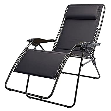 Extra Wide Zero-Gravity Lounger
