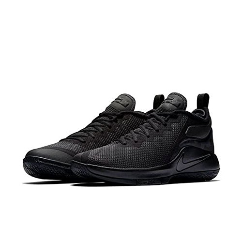 BLACK Textil II BLA Schwarz Sneaker BLACK Nike LeBron Witness ANTHRACITE Herren Synthetik HXCxSC