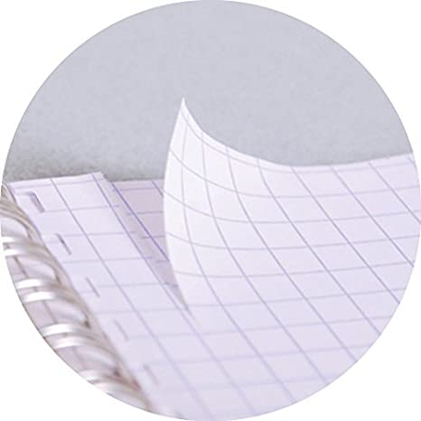 Nero Clairefontaine 785761C Quaderno Rilegatura a Spirale 21 x 18 x 1 cm