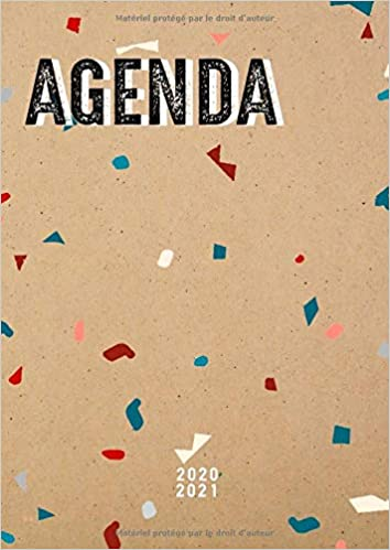Agenda 2020 2021 A4: Agenda 2020/2021 de Juillet 2020 à Décembre