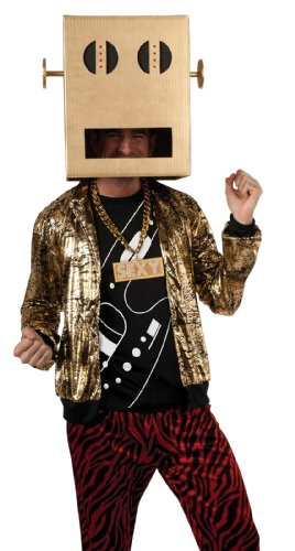 [Shuffle Bot Party Rock Anthem Costume - X-Large - Chest Size 44-46] (Vinyl Rock Star Costumes)