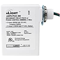Sensor Switch nSP5-PCD-2w nLight Secondary Relay Pack Phase Control Dimming 120/277