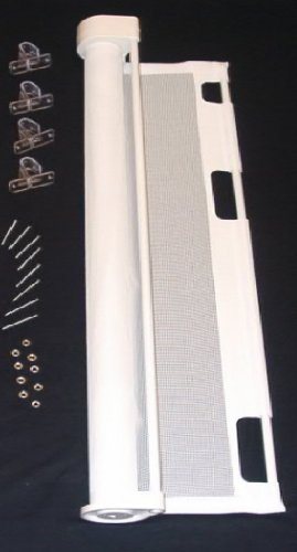 """Retract-A-Gate safety gate 72"""" White"""