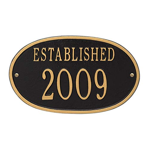JMiY Established Date Personalized Plaque to Commemorate All of Life's Celebrations -