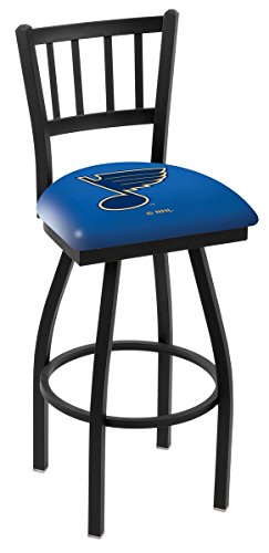 Holland Bar Stool NHL L018 St Louis Blues Swivel Bar Stool, 30