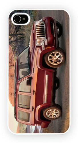 Jeep Liberty Red, iPhone 6, Etui de téléphone mobile - encre brillant impression