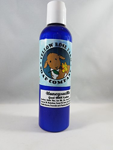 Goat Milk Lotion- Honeysuckle (All Natural, Alcohol FREE)