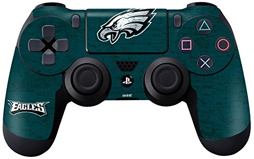 NFL Philadelphia Eagles Distressed Skin for Sony PlayStation 4/ PS4 Dual Shock4 Controller