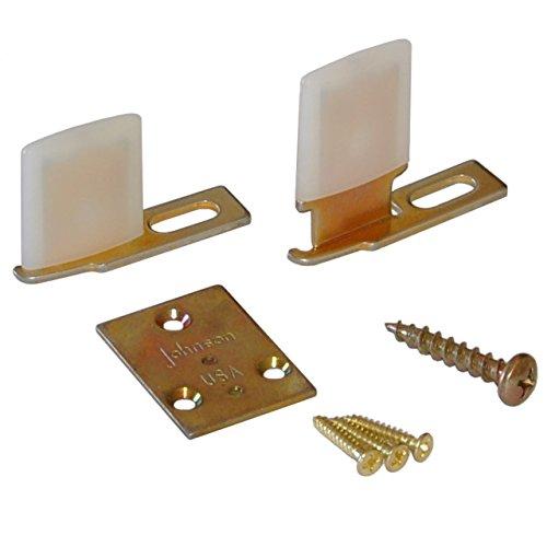 Johnson Hardware 2041PLBG Hidden Pocket Door Guide (Johnson Door)