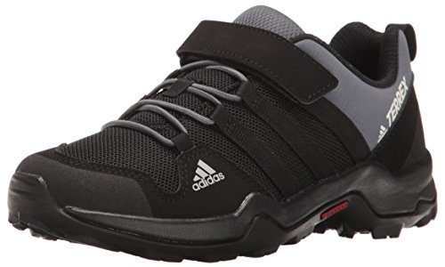 adidas outdoor Kids' Terrex AX2R CF Lace-up Shoe, Black/Black/Onix, 6 M US Big Kid