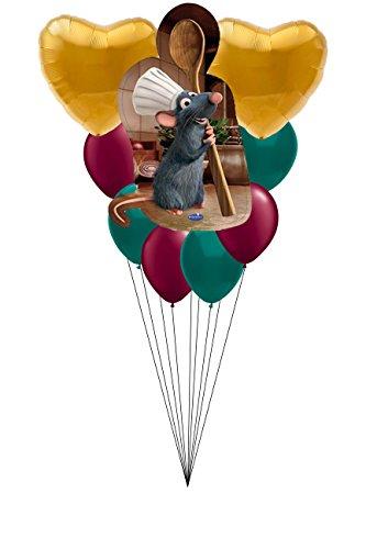 Abc Family Original Christmas Movies - Disney Ratatouille Colorful Happy Birthday 9 CT Balloon Bouquet