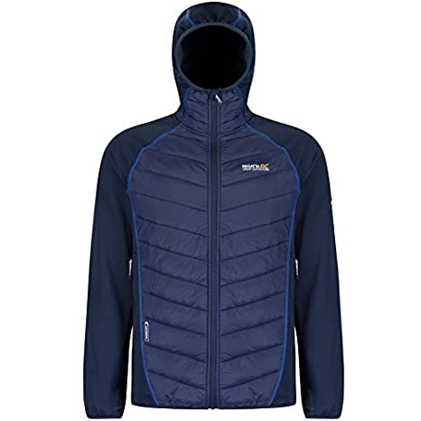Regatta mens Regatta Mens Andreson II Hybrid Insulated Stretch Jacket Navy  XXL - Chest 46-
