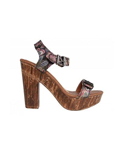 Urban Women Heel Shoes FN820 Black hRuGBeKgY9