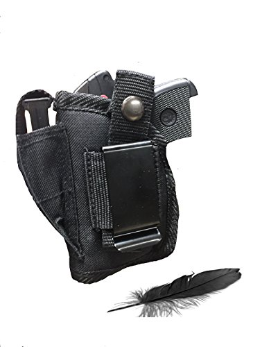 Feather Lite Fits Sig Sauer P238 Sig P290 with Laser Soft Nylon Inside or Outside The Pants Gun Holster.