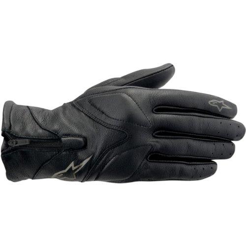 Alpinestars Vika Womens Leather Gloves Black XS