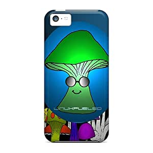 Durable Case For The Iphone 5c- Eco-friendly Retail Packaging(mike Da Shroom Widescreen)