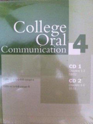 College Oral Communication 4: Audio CD