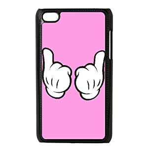 iPod Touch 4 Case Black Mickey Mouse tnh