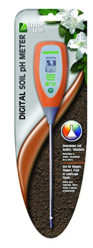 Luster Leaf 2956 Rapitest Digital Soil Ph Meter by Luster Leaf