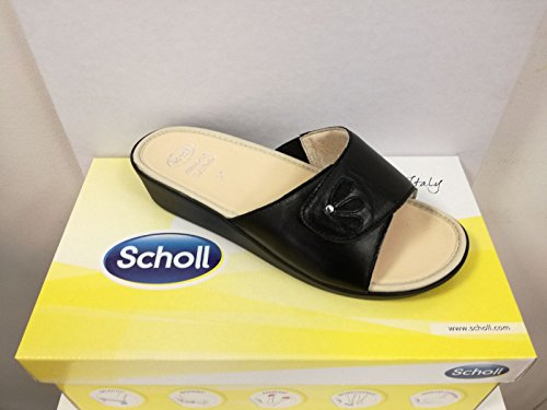 Scholl Memory Cushion Marietta Sandals Black x0WPt
