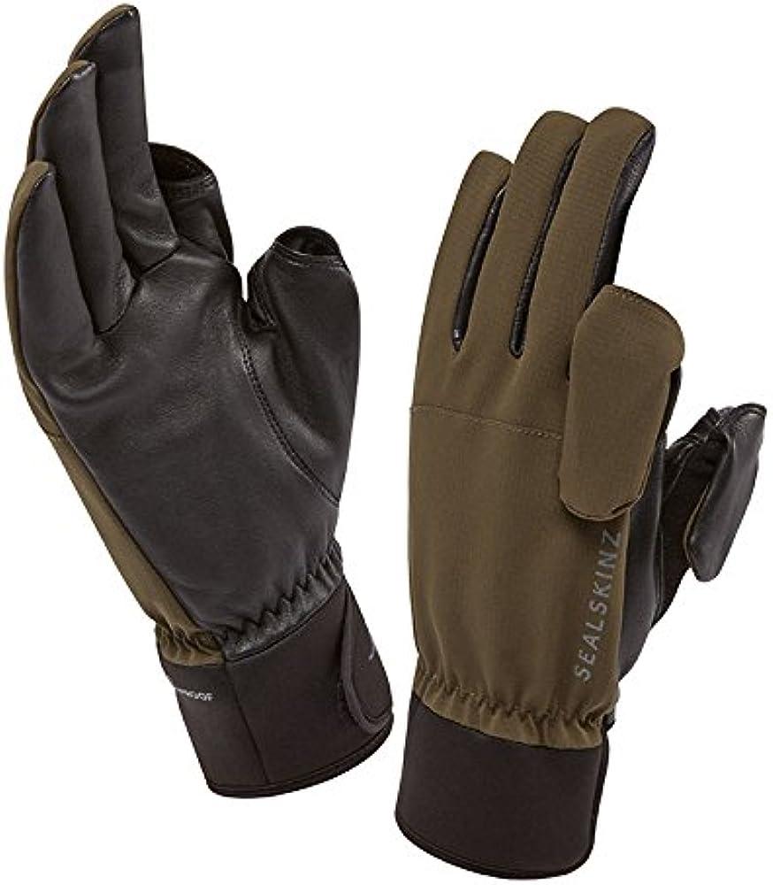 SealSkinz All Season 100/% Waterproof Outdoor Hiking Walking Work Gloves Green