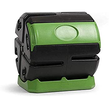 Amazon.com: Miracle-Gro Large Dual Chamber Compost Tumbler ...