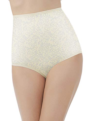 Vanity Fair Women's Perfectly Yours Ravissant Tailored Brief Panty 15712, Tea time, Large/7