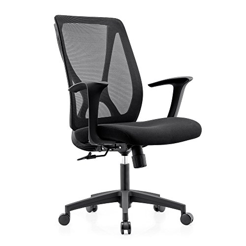 L-shape Height Desk Executive (Topsit Office Furniture Executive X Shape Plastic Back Staff Desk Task Chair)