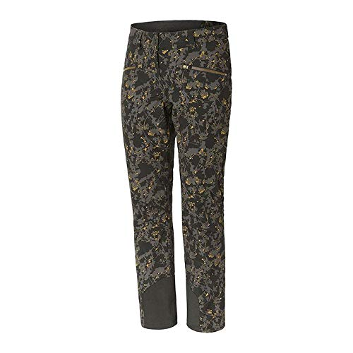 Ziener TAIRE Lady Ski Trousers Black Floral Print 38