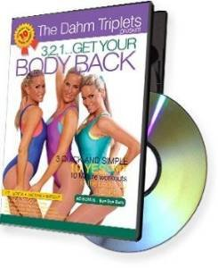 The Dahm Triplets: 3, 2, 1... Get Your Body Back (Get Your Body Back Dvd)